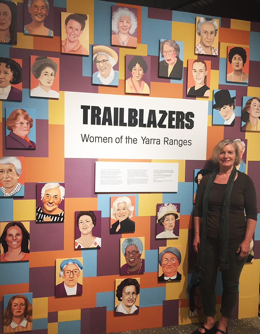 Trailblazers Exhibition Yarra Ranges Regional Museum
